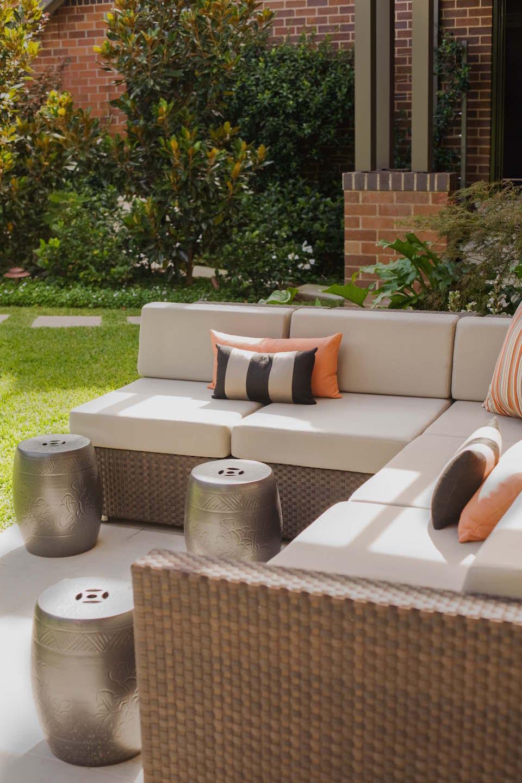 outdoor living stark design. Black Bedroom Furniture Sets. Home Design Ideas